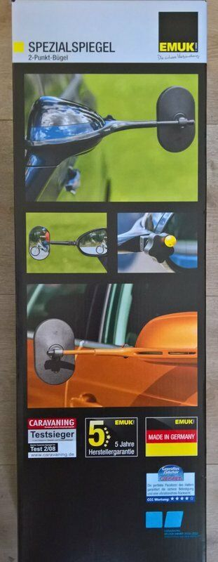EMUK Spiegel Wohnwagenspiegel VW Caddy ab 04//2015* Alltrack Kombi 100167 NEU