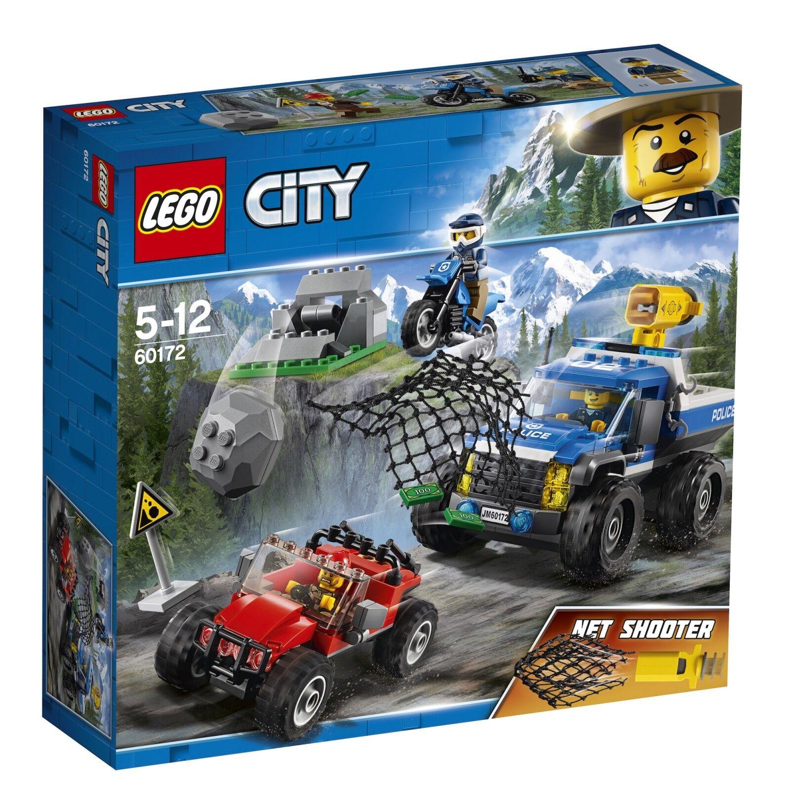 LEGO® City 60172 Verfolgungsjagd auf Schotterpisten NEU OVP_Dirt Road Pursuit