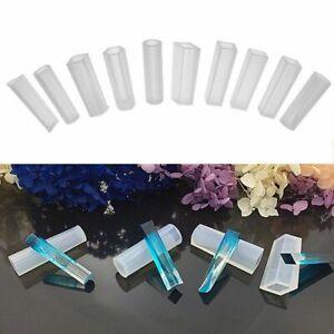 5x DIY Silikon Basteln Gießform Mould Muster Mold Anhänger Halskette Schmuck