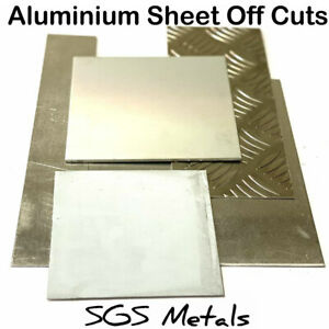 Plain-ALUMINIUM-Sheet-Plate-OFFCUTS-Off-Cuts-New-Material-Guillotine-Cut