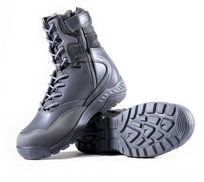 Men's Boots For Hiking Camping Lace-up High Top shoes Tactical Footwear Sports