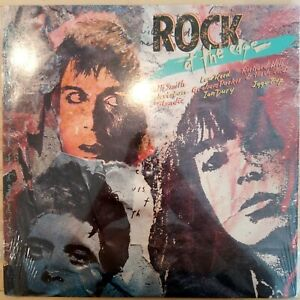 ROCK-AT-THE-EDGE-LP-NM-IGGY-POP-LOU-REED-PATTI-SMITH-TELEVISION-PUNK-ROCK-shrink