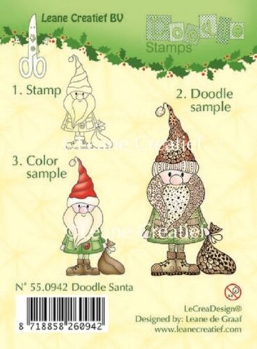 NEW LeCrea Design Clear Cling Rubber DOODLE Stamps Christmas Baby New Designs