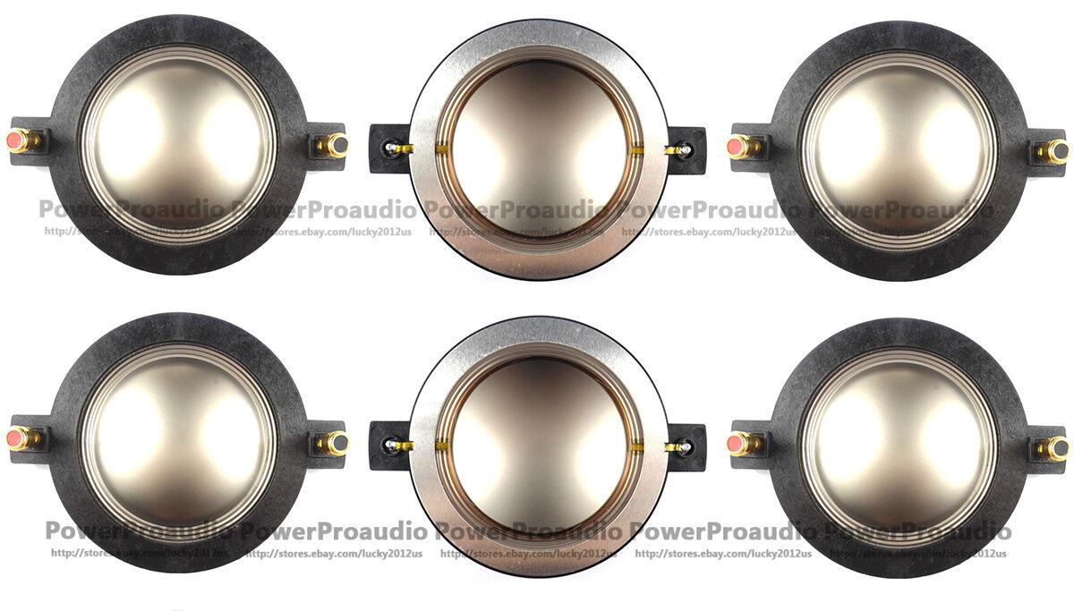 6pcs Replace For P-Audio BMD750 Turbosound CD210 CD212 Diaphragm