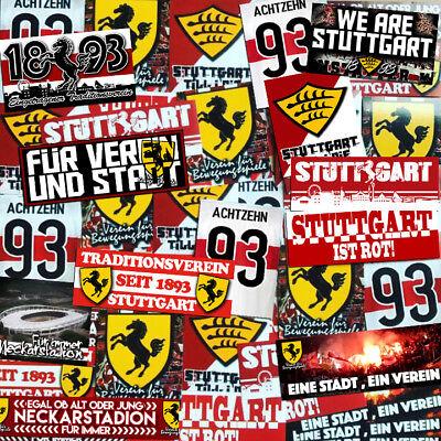 sports shoes 696cd a5f89 100 x Stuttgart Ultra Sticker Inspired By VFB Glue Jersey Flag Cap | eBay