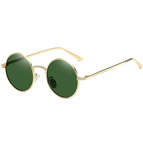 Classic Small Frame Round Women Men Brand Designer Metal Glasses Vintage Fashion