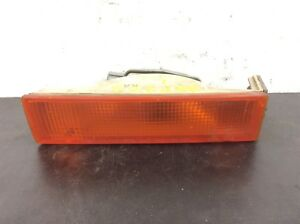 84 85 Accord Left Front Combination Signal Bumper Light Assy Used OEM