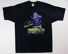 Vintage 90s 1999 Alan Jackson Concert T-Shirt XL Black The Hites Country Music