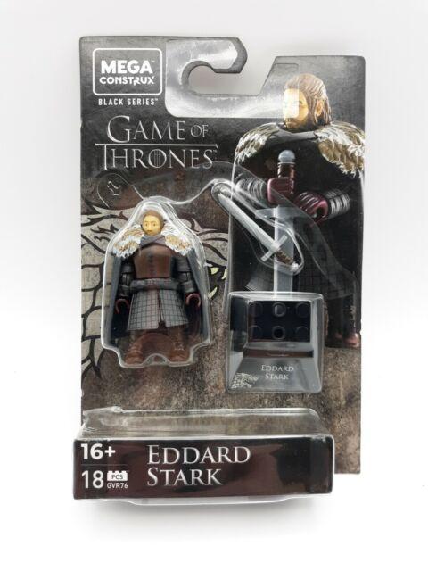 Mega Construx Black Series - Game of Thrones GOT - Eddard Stark [GVR76] MIP