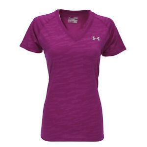 Under-Armour-Women-039-s-UA-Tech-V-Neck-T-Shirt