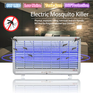 8W-Electric-LED-Mosquito-Killer-Lamp-Light-Insect-Pest-Fly-Zapper-Bug-Catcher
