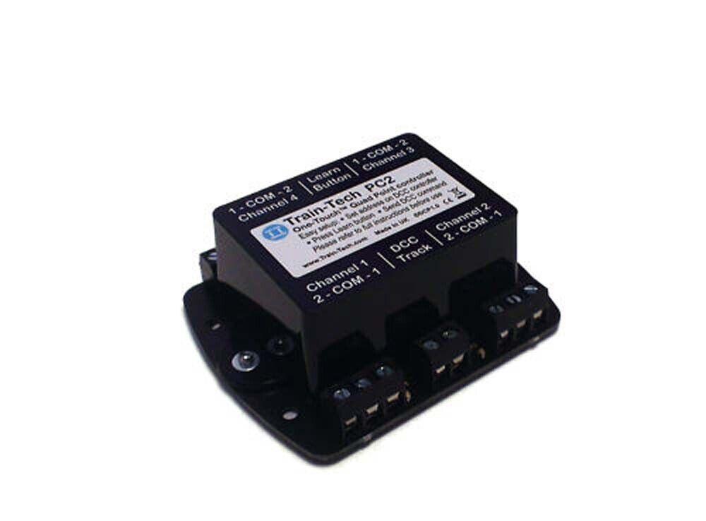 Train Tech DCC Point Controller - Quad (4 Points) N HO OO Gauge TTPC2