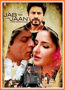 Jab Tak Hai Jaan Bollywood Movie Posters Vintage Classic Indian