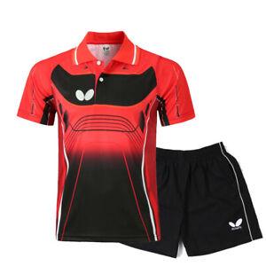 2019-New-men-039-s-Racquet-Sports-Tops-tennis-badminton-Clothes-T-shirts-shorts