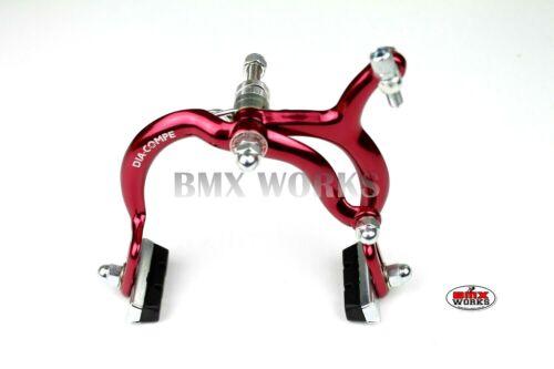 Old School Retro BMX Genuine Dia-Compe MX890 Red Rear Brake Caliper