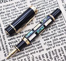 Jinhao 650 Fountain Pen Bright Pearl Dark Green Sea Shell Medium Nib
