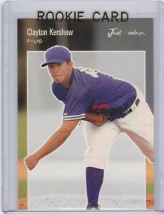 Details About Clayton Kershaw Rookie Card Los Angeles Dodgers 2006 Baseball Rc Minor League Le