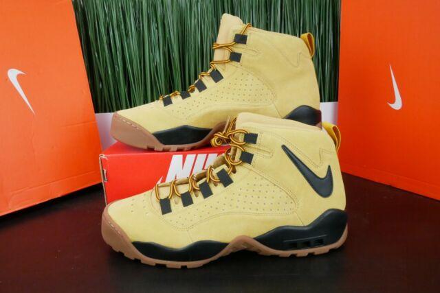 Nike Air Darwin Mens Dennis Rodman Wheat Black AJ9710-700 Size 10.5