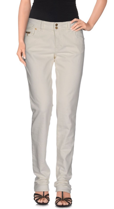 2cfd1d2b8a45ab GALLIANO () Straight Jeans 26 NWT 225 Ivory noyvlx2460-Jeans - www ...