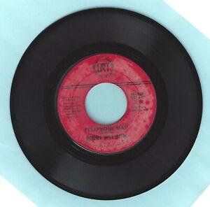 Telephone-Man-Itinerary-Meri-Wilson-GRT-Records-45-RPM