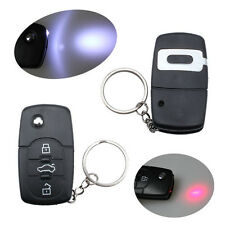 Novelty Electric Shock Fake Remote Car Key Keyring Funny Joke Prank Harmless