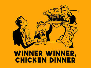 winner winner chicken dinner t shirt funny mens womens kids 80 s
