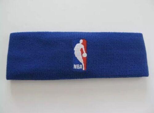 Nike Elite Dri Fit NBA Headband Blue Official On Court Product Basketball