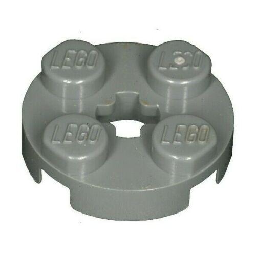Missing Lego Brick 4032 DkStone  x 5  Plate 2 x 2 Round