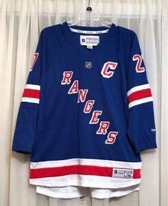 reputable site 8ce02 65e17 Details about New York Rangers Jersey Reebok #27 Ryan McDonagh Blue Sz  Youth XL
