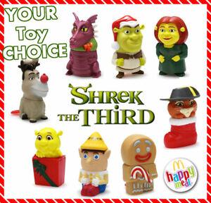 MCDONALDS 2007 SHREK THE THIRD MATCHUP CHALLENGE  #1 SHREK