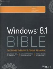 Windows 8.1 Bible, Good Books
