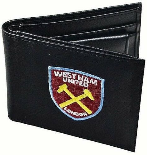 EMBROIDERED CREST LEATHER FOOTBALL CLUB SPORTS TEAM MONEY WALLET PURSE LFC GIFT