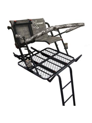 NEW X-STAND TREESTAND XSLS629 The Jayhawk X Steel 2 Two Man Hunting Ladder stand