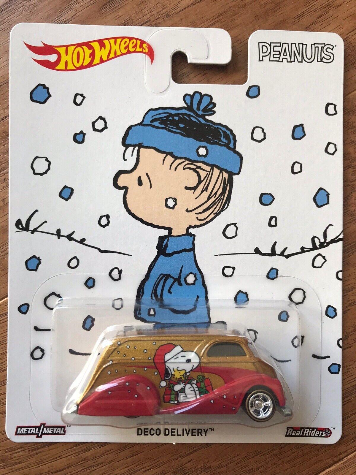 Real Riders DC Peanuts Disney Hot Wheels Pop Culture Selection Nestle
