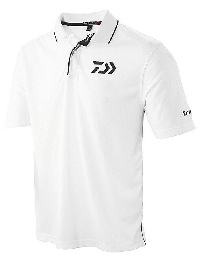Daiwa Vector Vector Vector Performance Fabric Polo Fishing Shirt Various Größes 107960