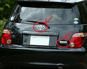 Details about 2004 2005 2006 2007 SCION xA TOYOTA ist EMBLEM REAR SET NCP60  JP GENUINE JAPAN