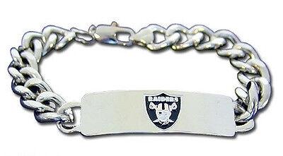 CHOOSE TEAM ID Bracelet New NFL Official Licensed 8.5in Heavy Metal Men or Women