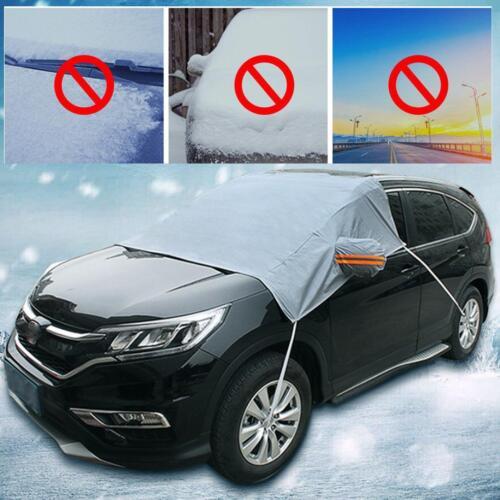 Universal Car SUV Auto Windshield Snow Sun Cover Tarp Ice Scraper Frost Removal