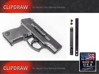 Para Arms Semi-auto Clipdraw All Models Belt Clip Conceal Carry Sa-b Black Iwb