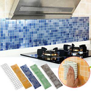 Bagno resistente adesivo cucina autoadesivo carta da for Parati da cucina