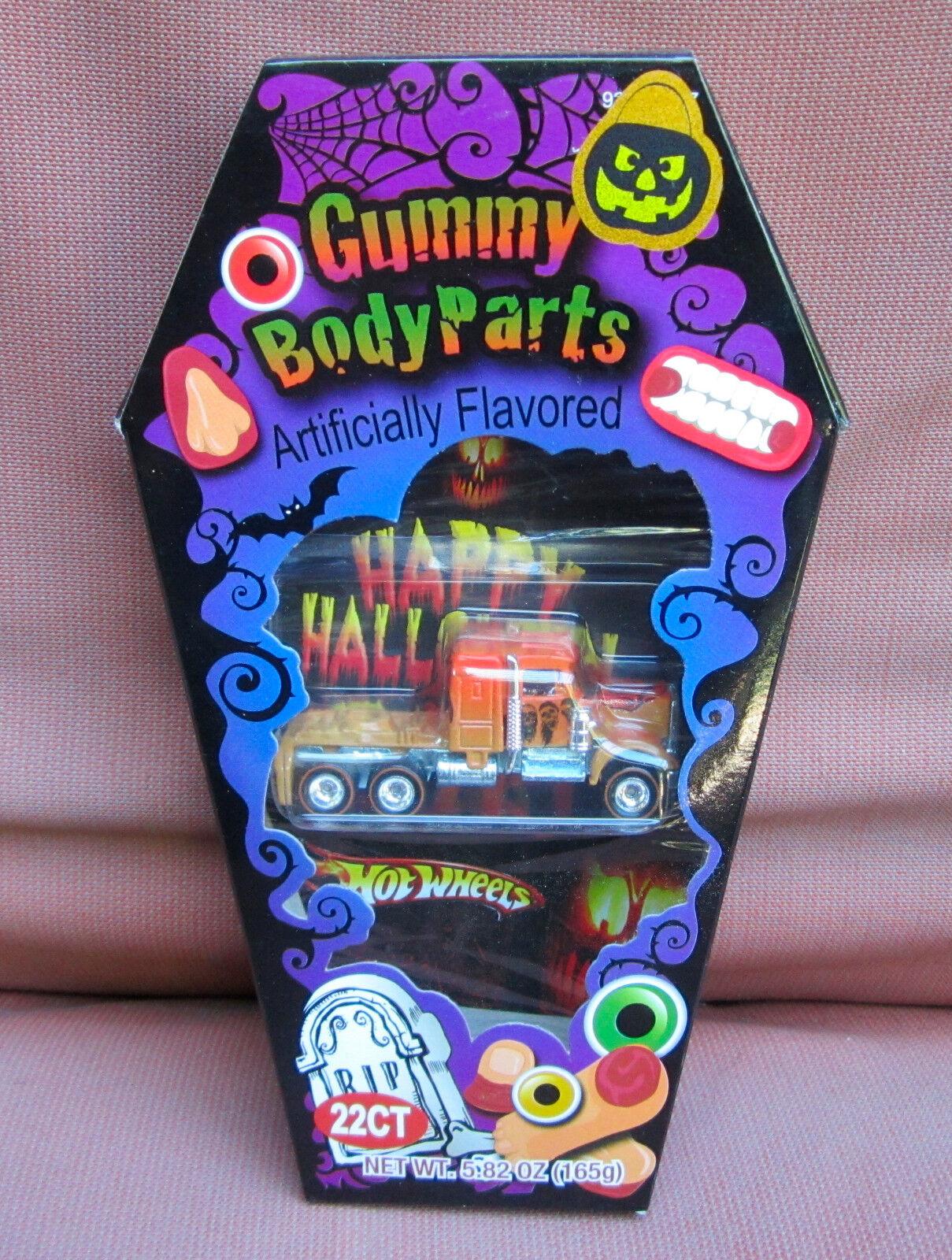 Hot Wheels CUSTOM KENWORTH W900 in Halloween Candy Box