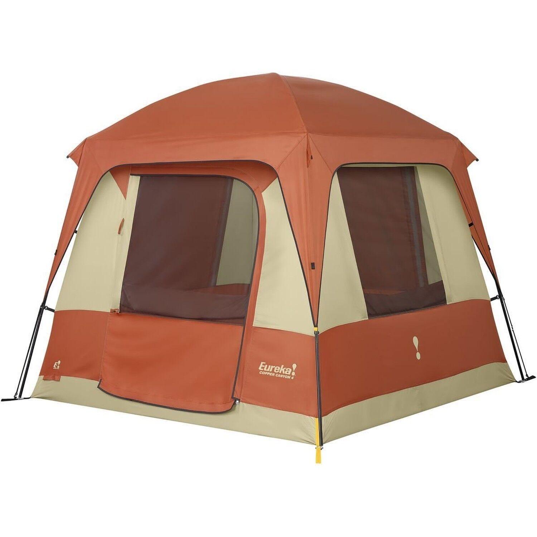 Eureka Copper Canyon 4-4 Person Tent Copper Tan