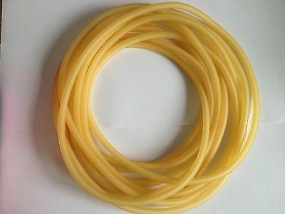 1meter Lab Tube  4mm( ID) X 6mm( OD) Latex Rubber Tubing
