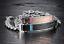 2-Bracciale-Coppia-bracelet-Uomo-Donna-ring-Fidanzati-anello-Acciaio-INCISIONI miniatura 4