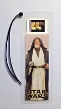 STAR WARS OBI WAN Movie Film Cell Bookmark - complements movie dvd poster
