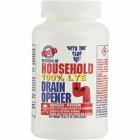 (case Of 12) Rooto 1 Lb. Crystal Drain Cleaner With Lye