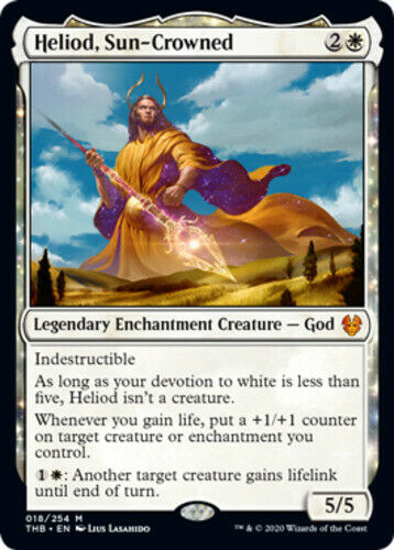 Sun-Crowned x1 Magic the Gathering 1x Theros Beyond Death mtg card Heliod