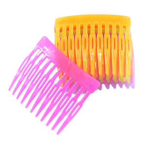 10-Pieces-Multi-color-Plastic-Hair-Combs-for-Kids-DIY-Hair-Clips-Accessories