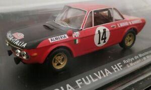 1-43-LANCIA-FULVIA-HF-RALLYE-DE-MONTECARLO-1972-S-MUNARI-COCHE-DE-METAL-ESCALA