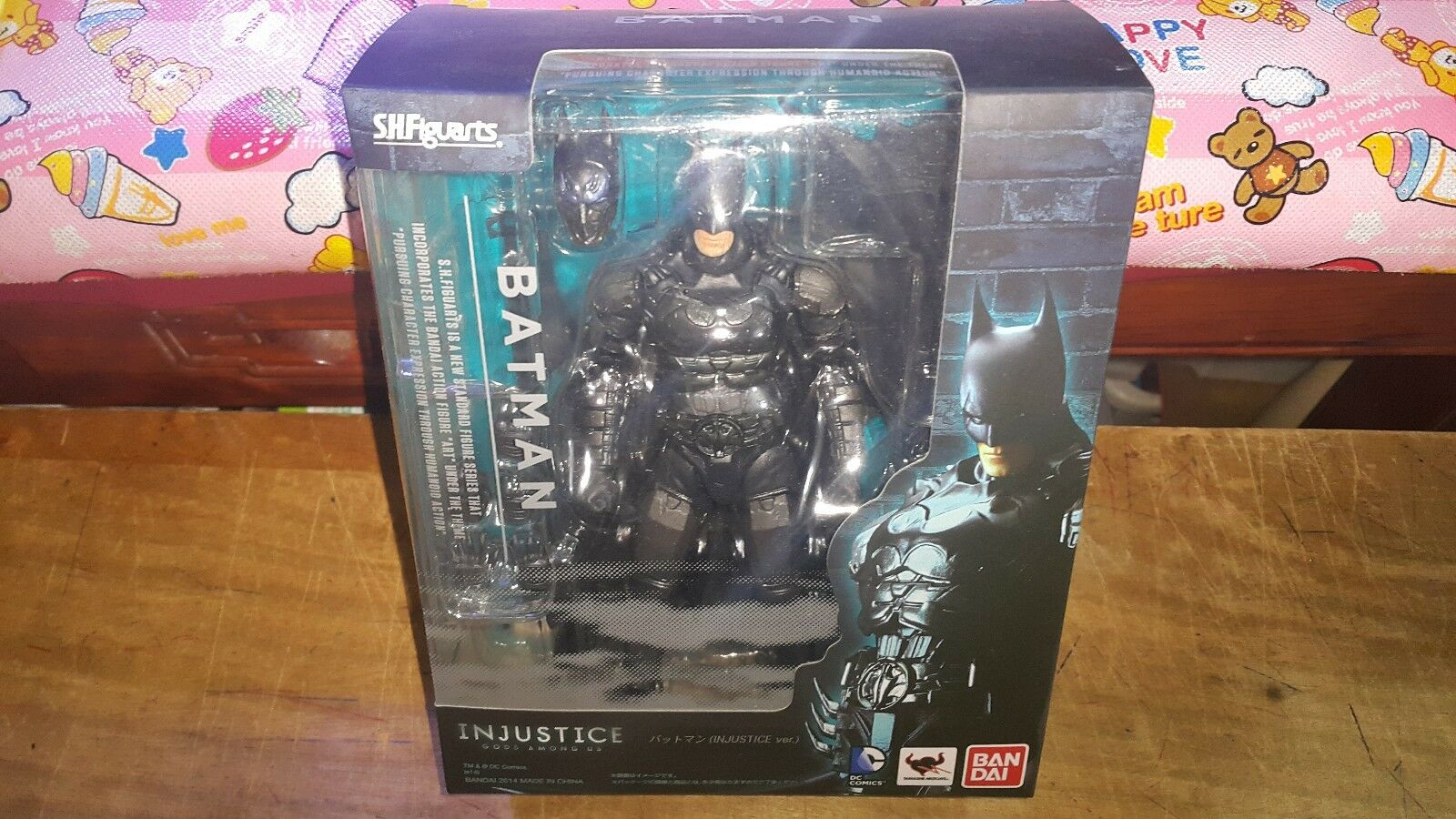 S.H.Figuarts SHF Batman Injustice Ver Action Figure